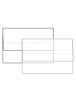 A4 Clear Document Wallet
