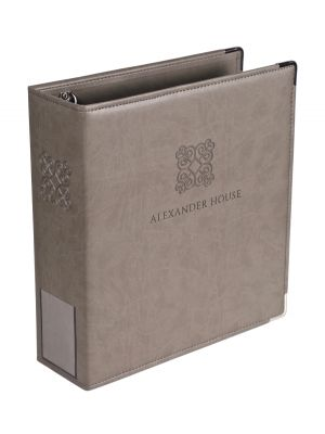 A4 Leather Ringbinder