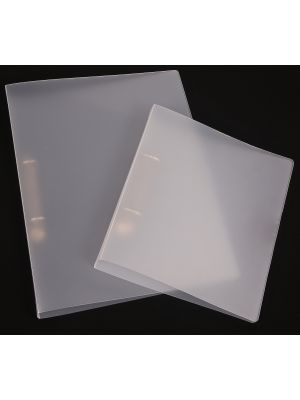 A5 Frosted polypropylene Binder