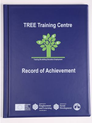 record of achievement folders